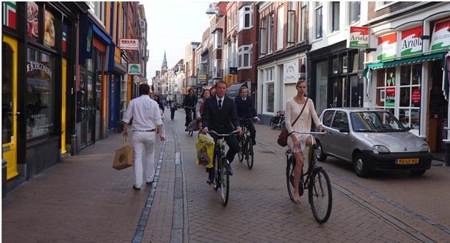 Rower to najlepszy środek transportu w każdym holenderskim mieście