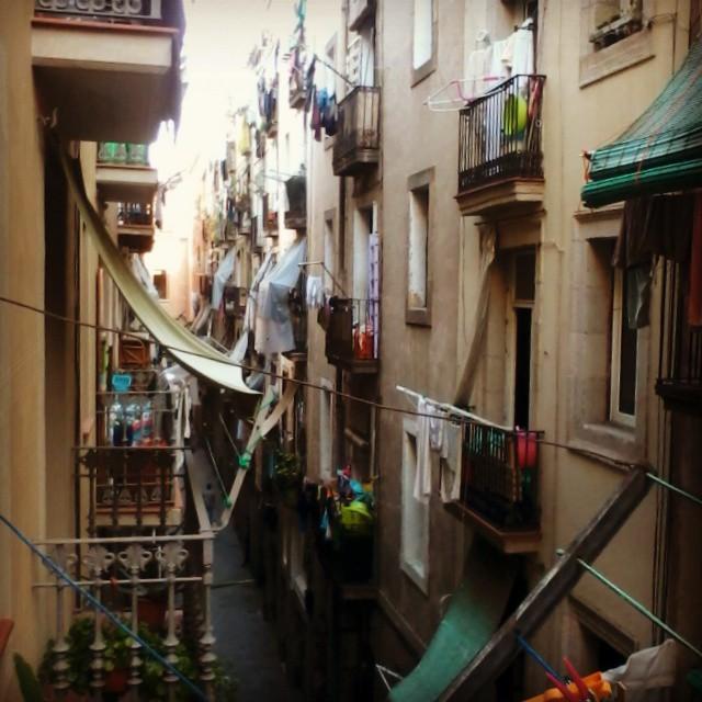 Słynna dzielnica El Raval