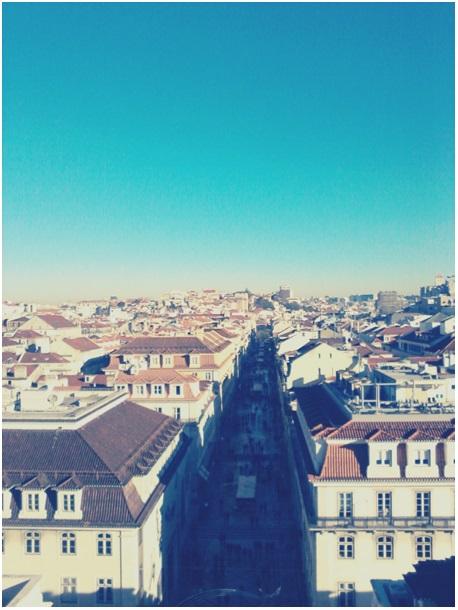 Widok na dzielnicę Baixa