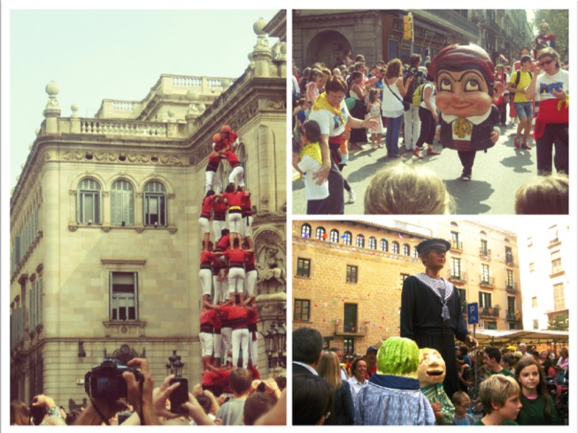 Katalońskie tradycje: Parada Gigantów oraz Castellers - wieże budowane z ludzi