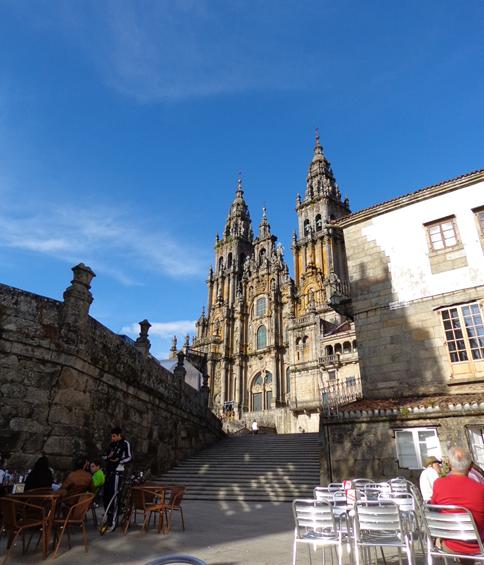 Katedra w Santiago de Compostela – meta pielgrzymów