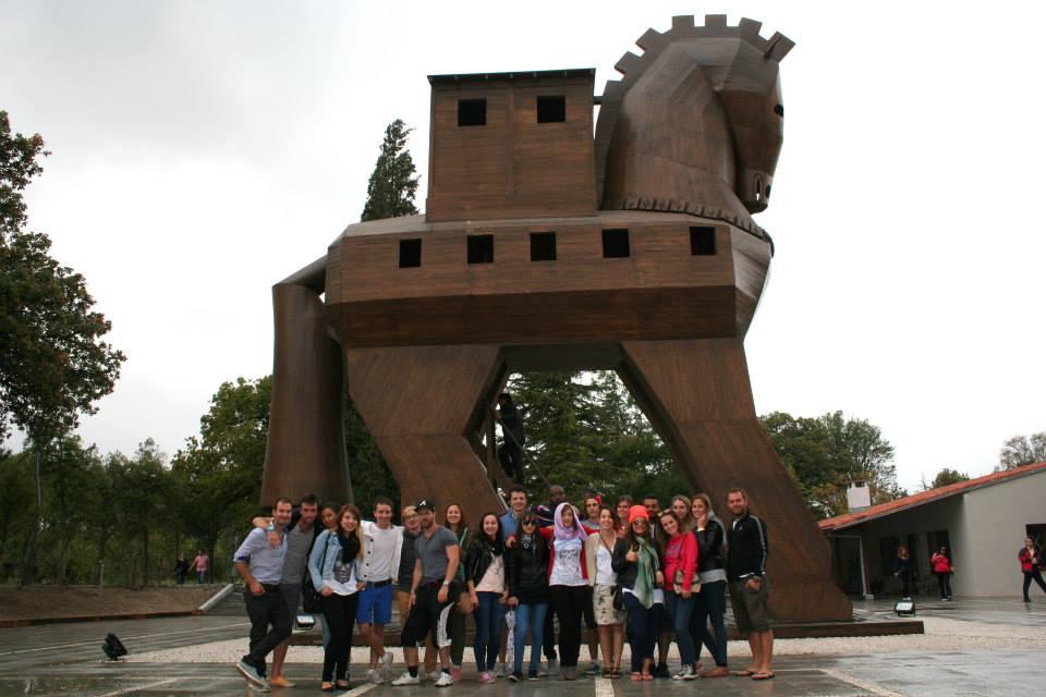 Erasmusowy road trip- Troja