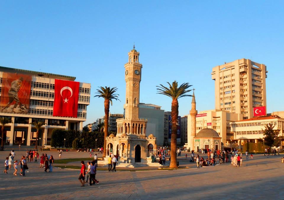 Wieża zegarowa- symbol Izmiru