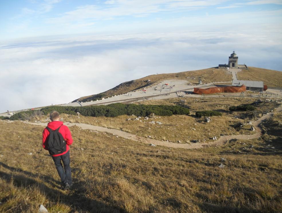 Na szczycie Schneeberg