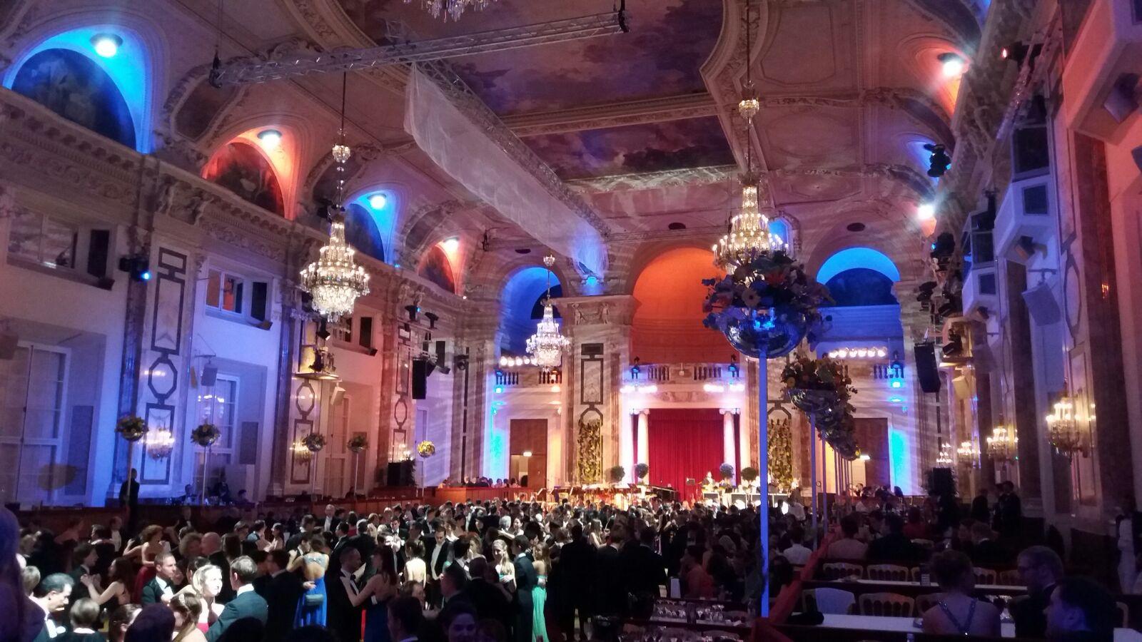 WU Ball 2016 w Hofburgu
