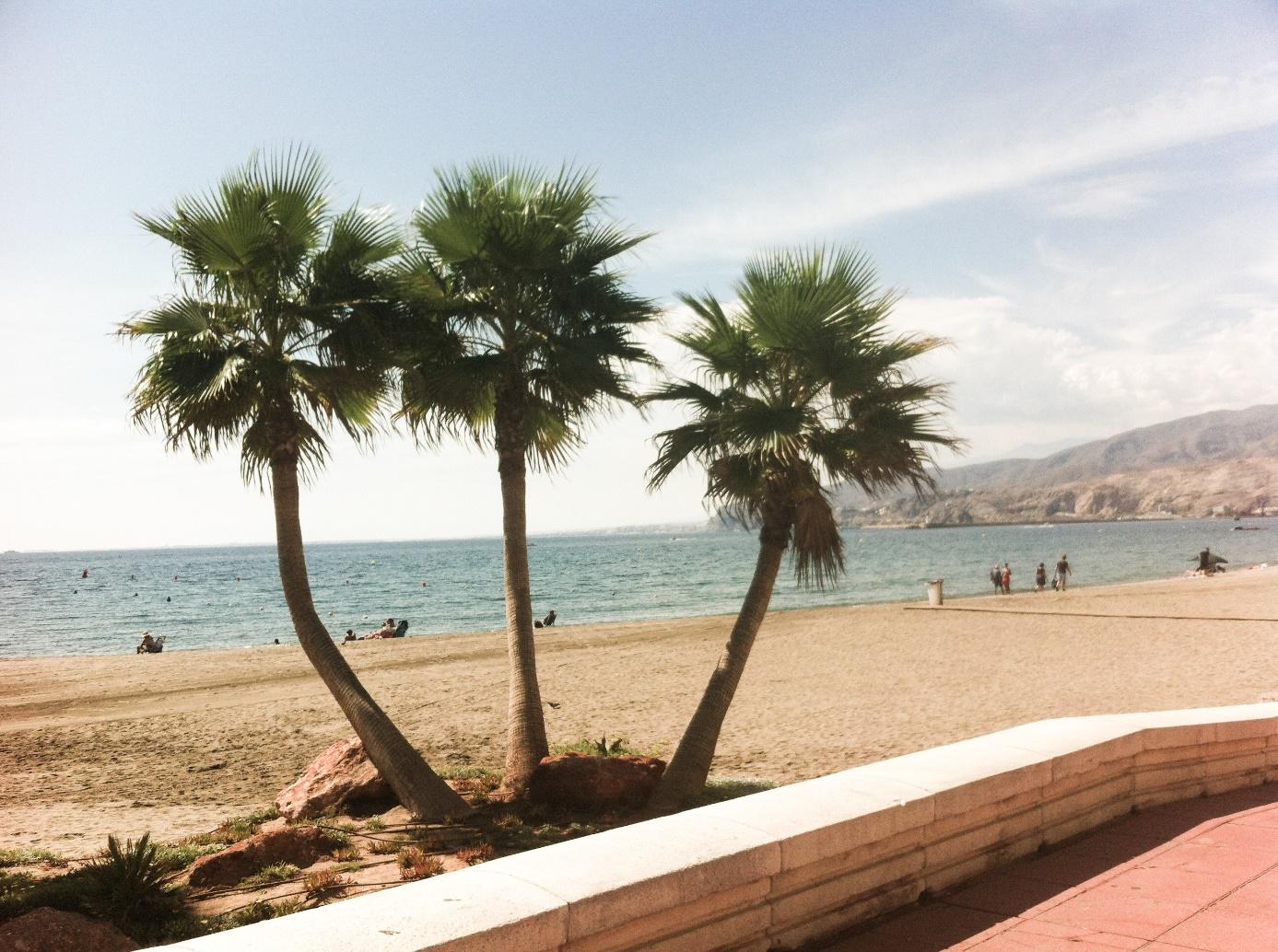 Plaża w Almerii, Źródło własne autora