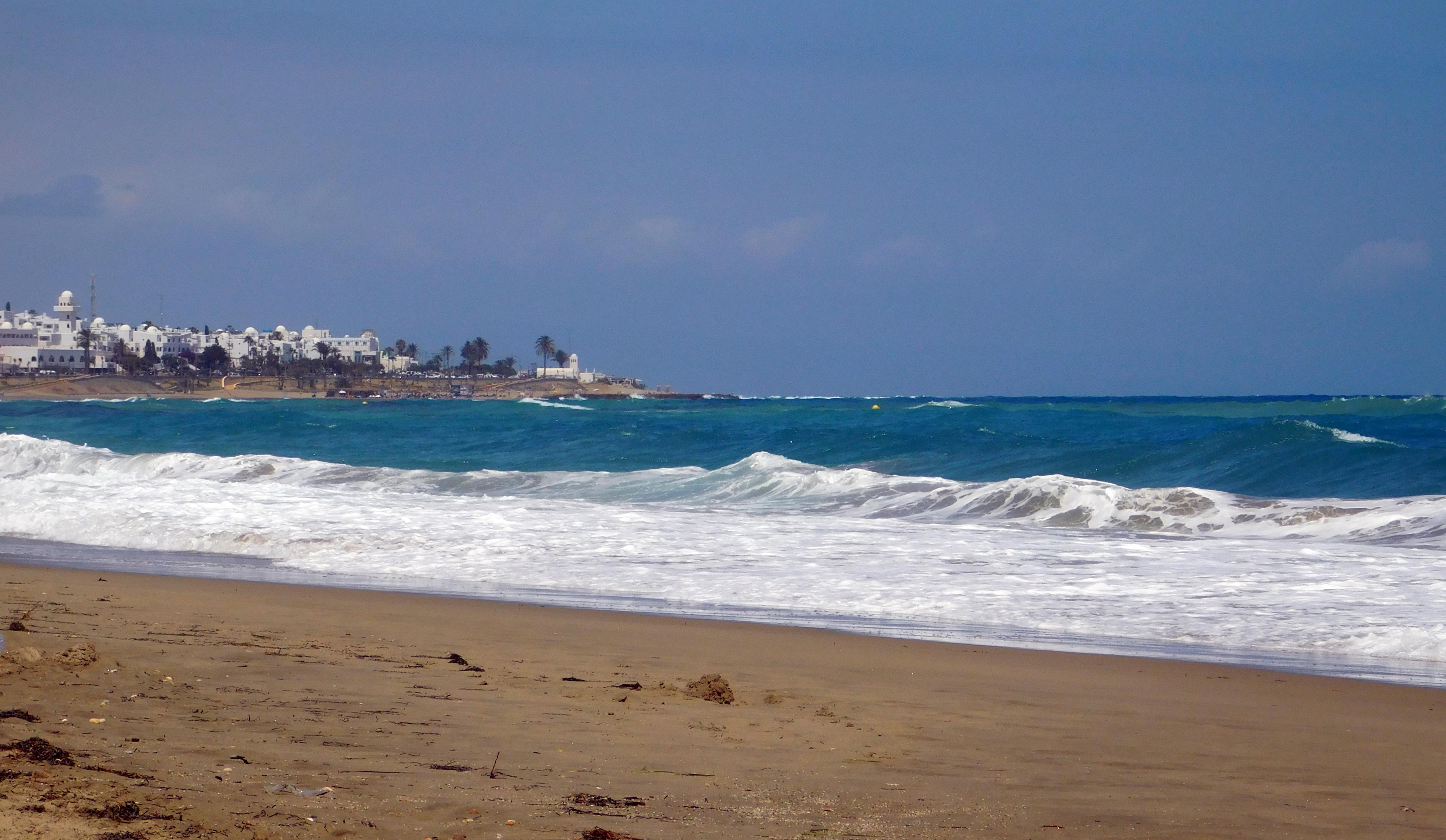 Plaża w Mojácar Źródło: zbiór własny autora