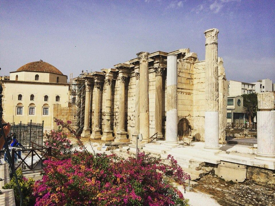 Starożytna świątynia w Atenach