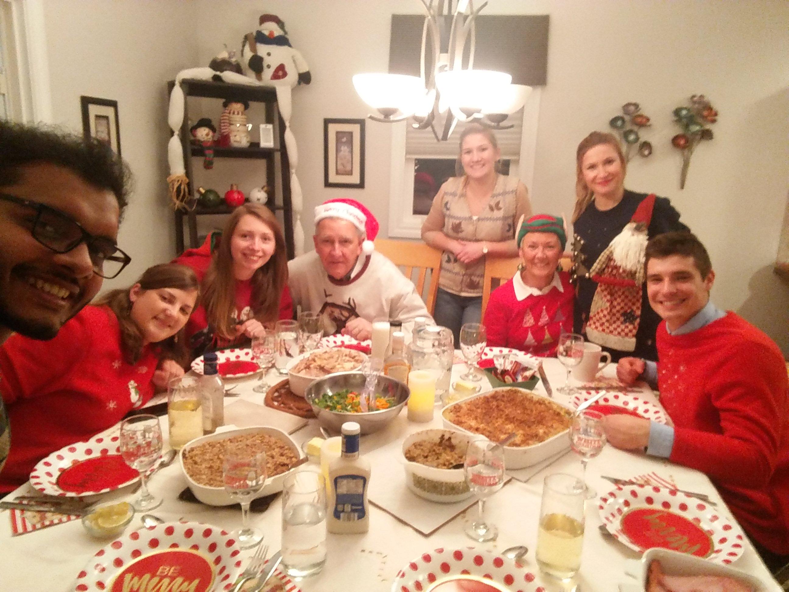 Ugly Sweater Party u Friendship Family. Źródło: zbiór własny autora