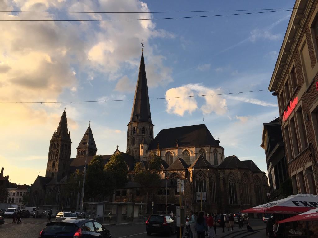 Widok na St. James Church źródło: zbiór własny autora