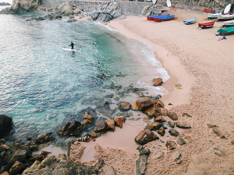 Wybrzeże Lloret de Mar żródło: zbiór własny autora