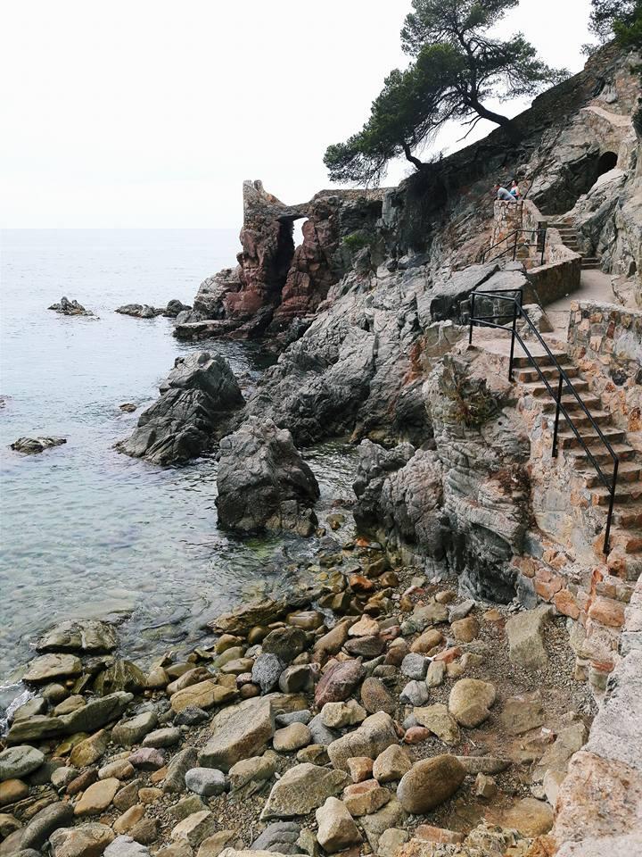 Wybrzeże Costa Brava źródło: zbiór własny autora