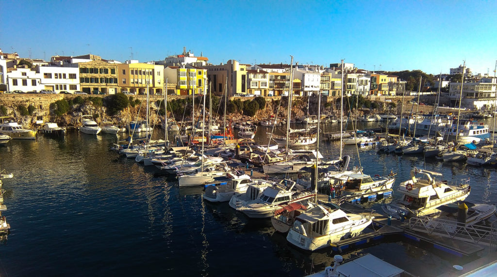Port w Ciutadella de Menorca, źródło: zbiór własny