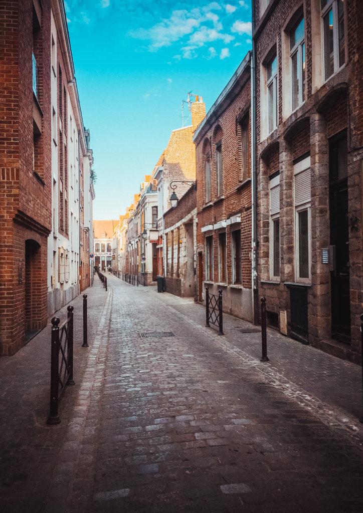 Klimatyczne uliczki w Lille, źródło: zbiór własny